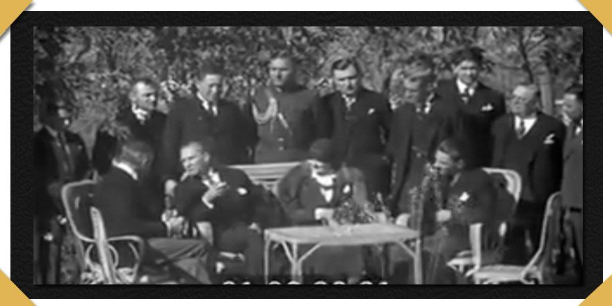 Atatürk'ün Sesinden Amerikan Elçisi'ne  Fransızca Brifing