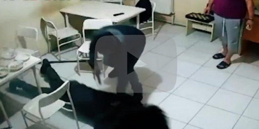 Terörist, yemekhanede işte böyle yakalandı!