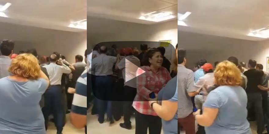 CHP'li belediye ile DİSK birbirine girdiİşçilere saldırdılar