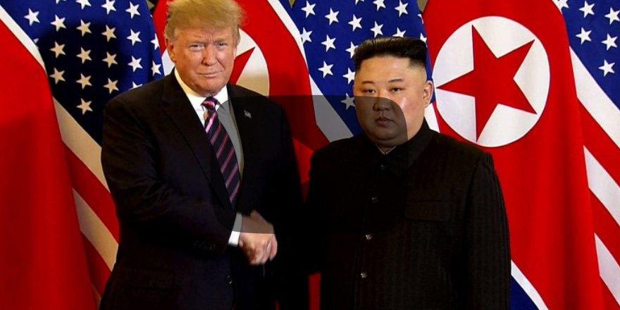 Trump ile Kim Jong bir arada!