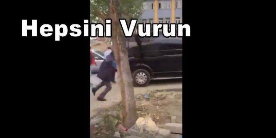 İmamoğlu'nun ortağının skandal görüntüleri: Vurun, öldürün!