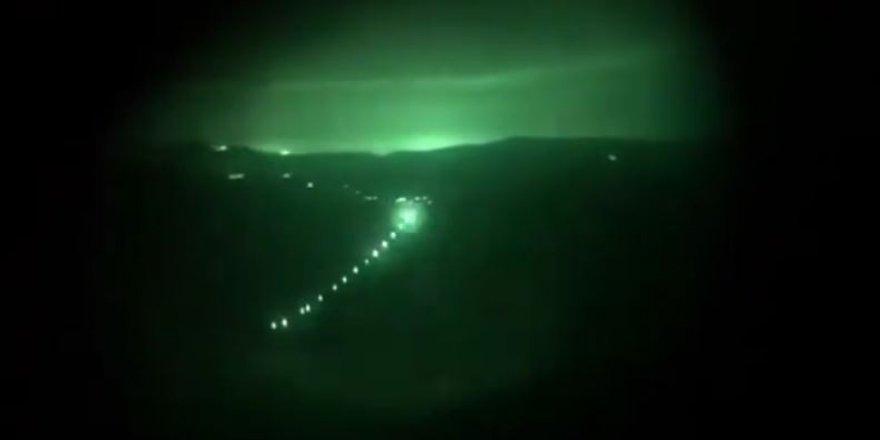 PKK'lı teröristlerin mağarası imha edildi