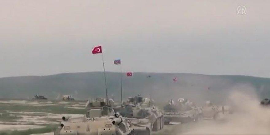 Türkiye-Azerbaycan ortak askeri tatbikat