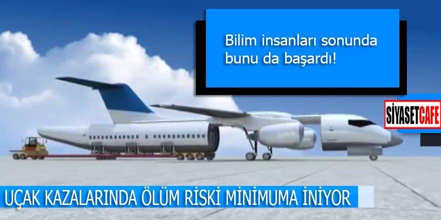 Uçak kazalarında ölümler artık minimuma inecek