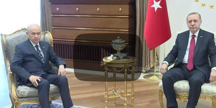 FLAŞ GELİŞME! Erdoğan ile Bahçeli bir araya geliyor