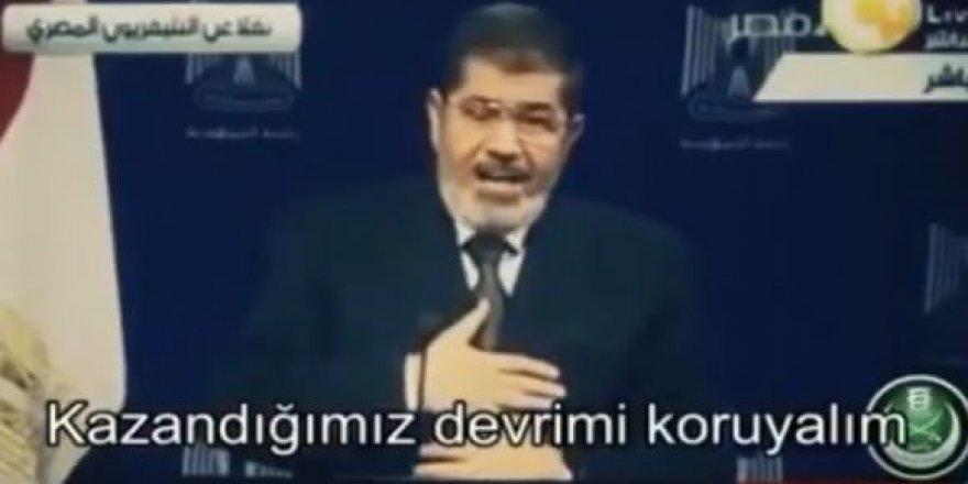 Muhammed Mursi'nin darbeden önceki son konuşması