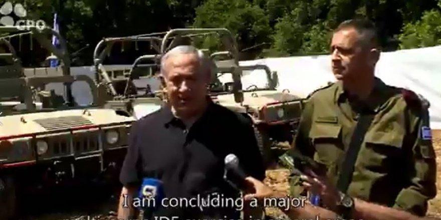 İsrail'den F-35 tatbikatı
