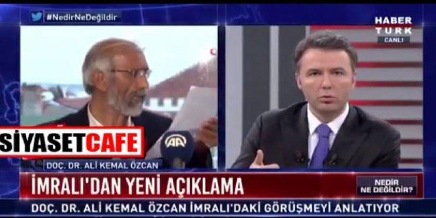 """Ali Kemal Özcan'ı Erdoğan'a Bülent Arınç götürmüş """"Uluslararası güçler FETÖ ile Erdoğan'ı yenmek istiyor"""""""