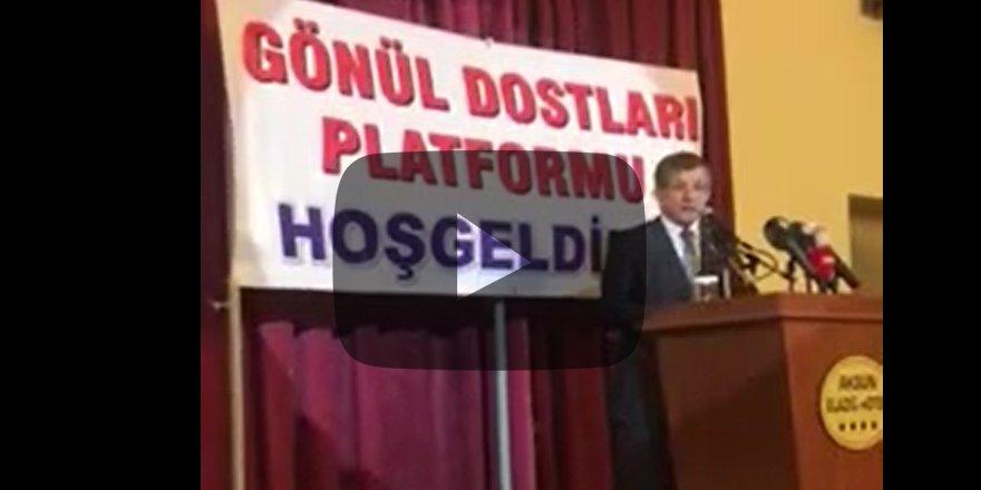 """""""Ciddi savrulmalar yaşadık, 3 yıl sustuk"""" Davutoğlu startı verdi"""