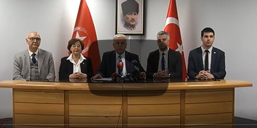 Doğu Perinçek: Akşener, FETÖ ve PKK ile ilişkili