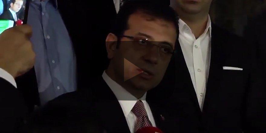 İmamoğlu'ndan şok itiraf SÜRECE HAKİM DEĞİLİM Bıraksın gitsinler...