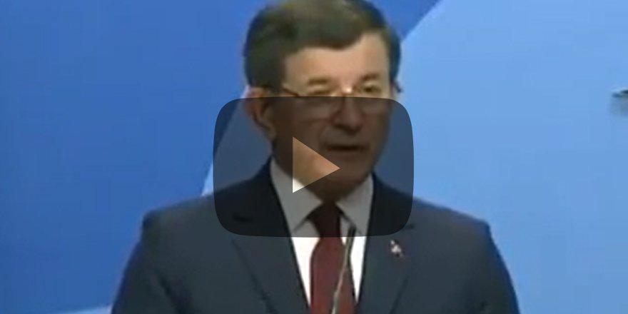 Ahmet Davuğlu istifa ederken Erdoğan için bunları söylemiş!