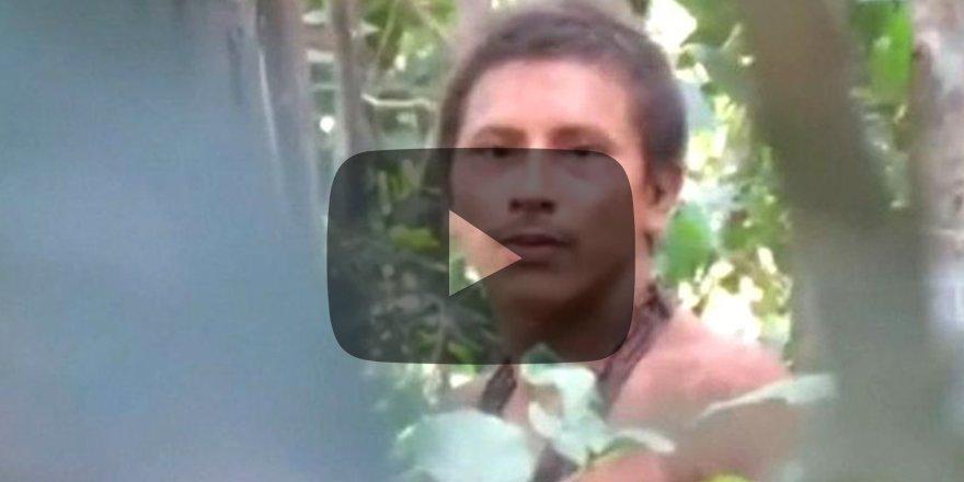 519 senedir hiç temas kurulmamıştı! Amazon kabilesi ilk kez görüntülendi