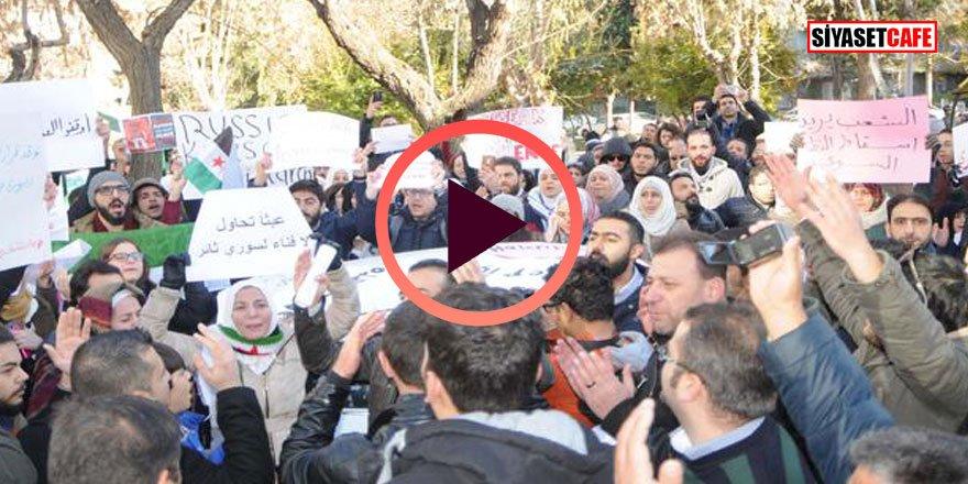 Son dakika! Suriyelilerin eyleminde arbede çıktı