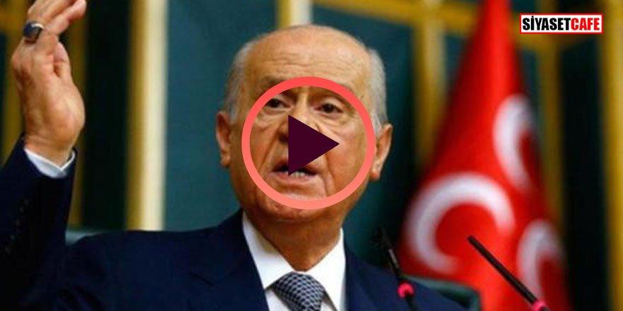 Bahçeli'den Kılıçdaroğlu'na; Siz hangi yüzle konuşuyorsunuz!