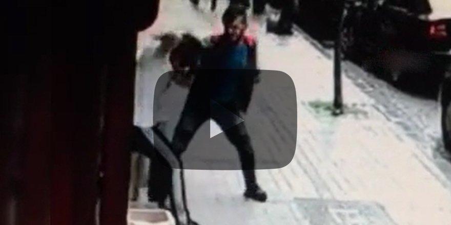 Genç kızı döve döve bayılttı Elini sallaya sallaya serbest kaldı