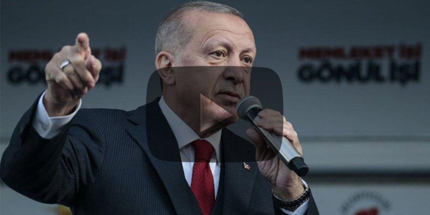 Erdoğan'dan Kaz Dağları talimatı