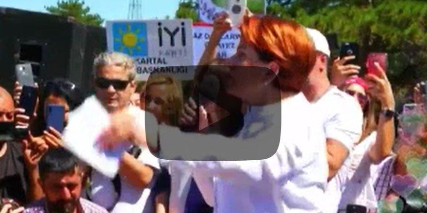 Meral Akşener Kaz Dağları'ndaki nöbete katıldı