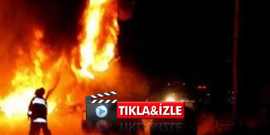 Tanker bomba gibi patladı: 57 ölü