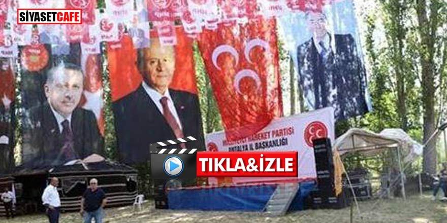 MHP Antalya bayramlaşma töreni