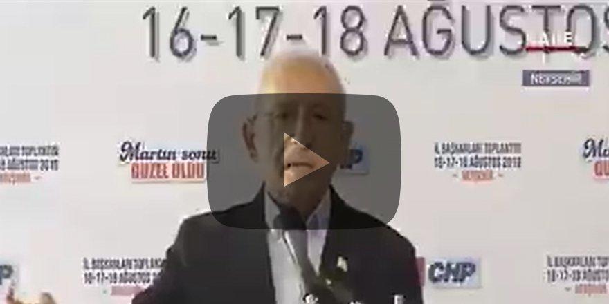 """Kılıçdaroğlu Türk-İş'i hedef aldı """"Batsın sizin sendikacılığınız"""""""