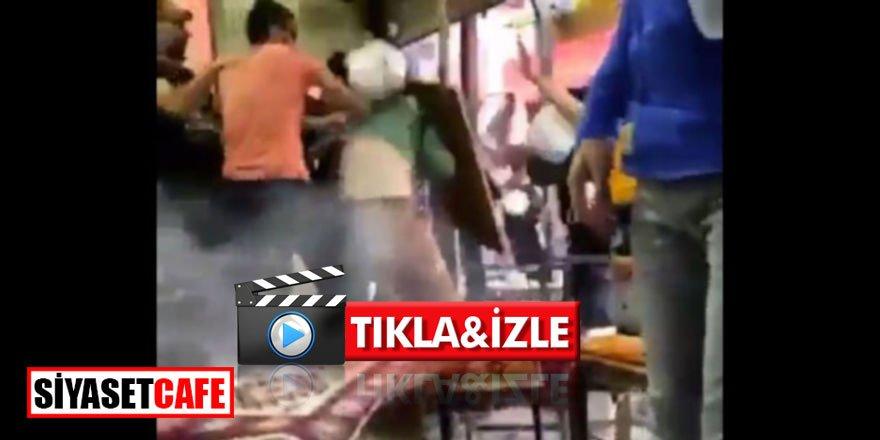 Van'da polis şiddeti diye sunulan videonun öncesi ortaya çıktı! *