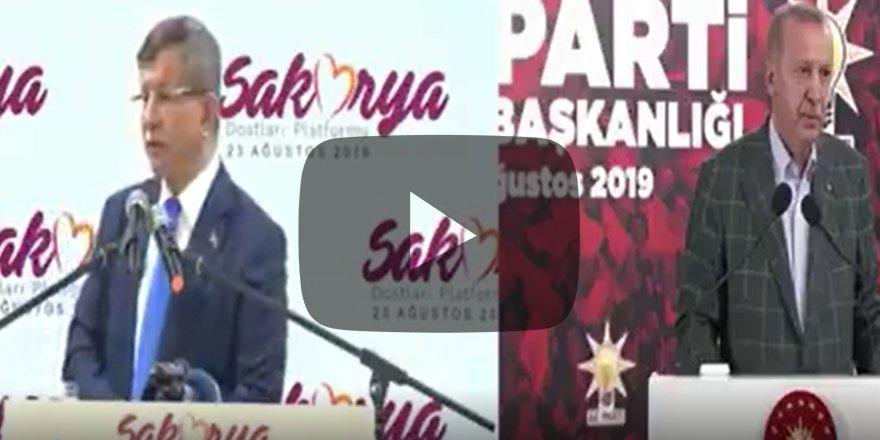 Erdoğan'dan 'konuşurum' diyen Davutoğlu'na açık mesaj Memleketi ateşe atma!