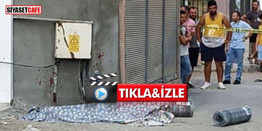 İzmir'de vahşet anları! Akrabasının bedenini orakla paramparça etti +18