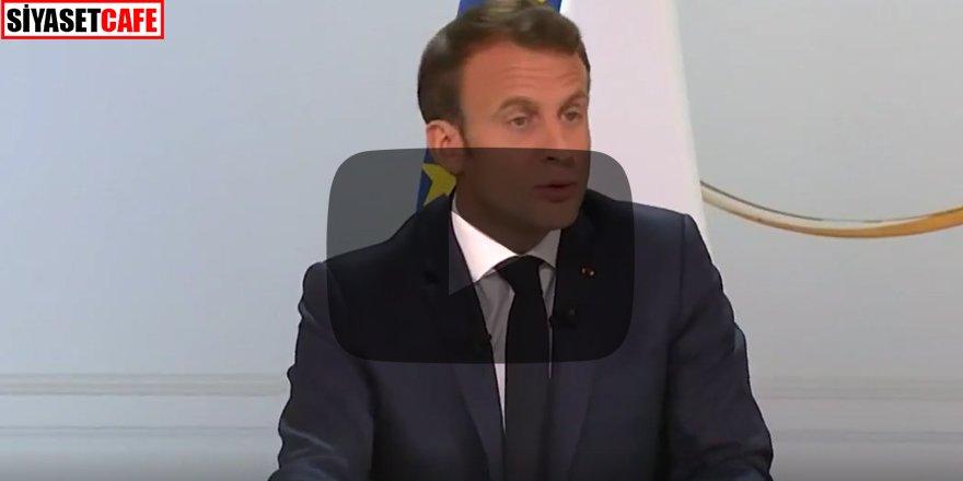 Macron'dan flaş itiraf Sonumuz geldi