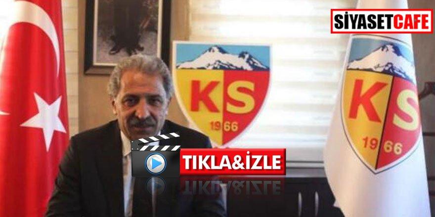 Kayserispor teknik direktörü Erol Bedir açıklama yaptı