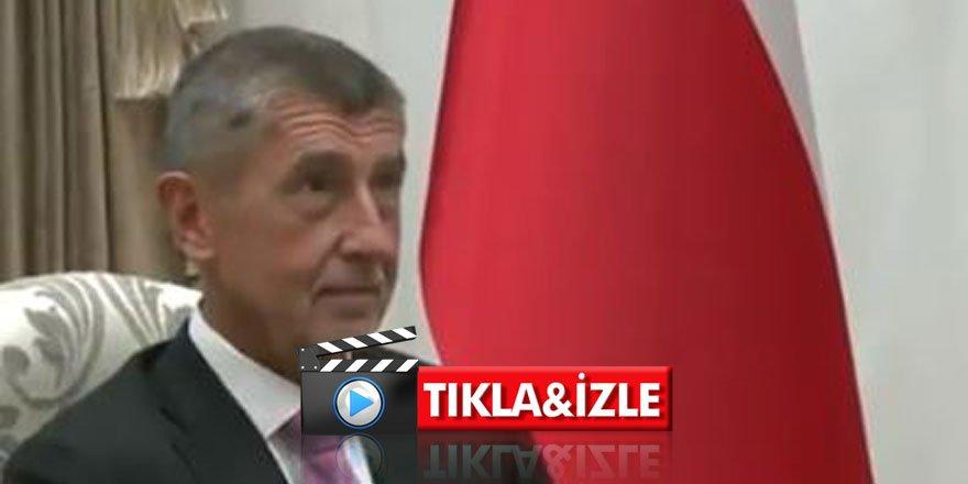 Çekya Başbakanı gözünü Külliye'den alamadı!