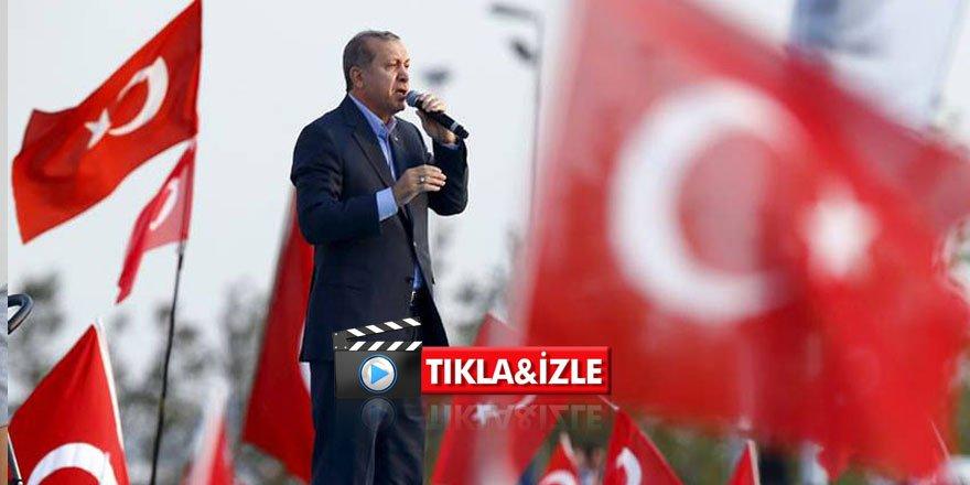 Erdoğan'dan Suriyeli açıklaması