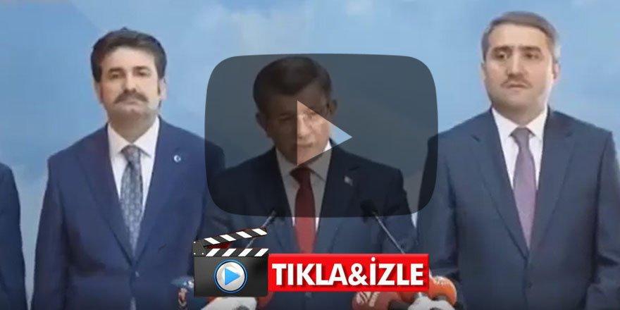 FLAŞ GELİŞME Ahmet Davutoğlu AK Parti'den istifa etti