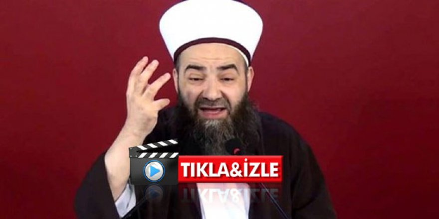 Menzil'i savunan Cübbeli'den skandal video; 'Harp ilan ederim'