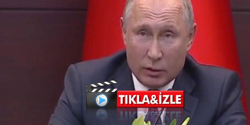 Putin Kuran'dan ayet okudu