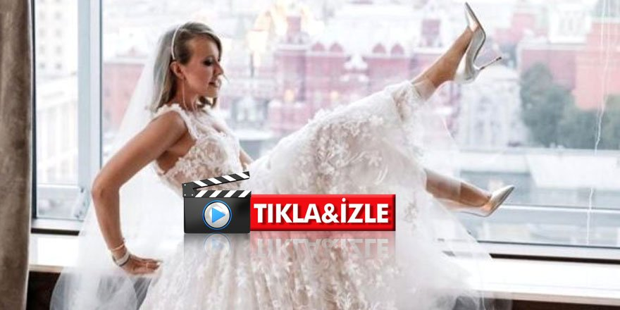 Putin'in manevi kızı fena dağıttı; Düğününde striptiz yaptı
