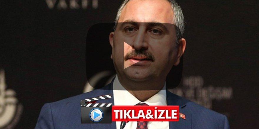 Sabah'ın hedef aldığı Adalet Bakanı Gül'den flaş açıklama FETÖ ile kaşık sallayanlar...