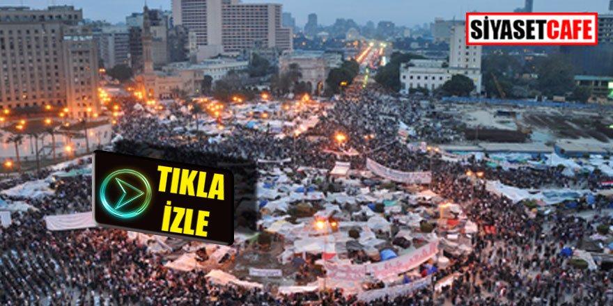 Mısır karıştı, halk Tahrir'e indi