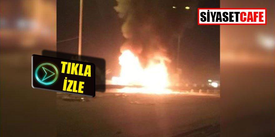 Irak'ta otobüste patlama 12 ölü...
