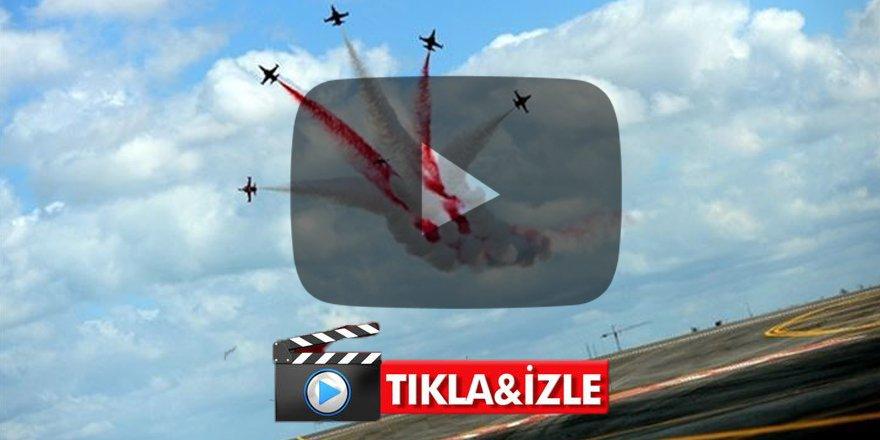 Teknofest'te son gün! Türk Yıldızları'nın nefes kesen gösterisi -VİDEO-