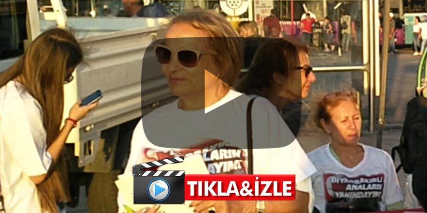 'Diyarbakır analarının yanındayım' kampanyasına kadıköylülerden yoğun ilgi