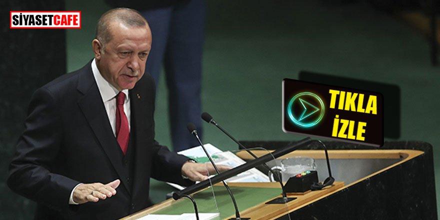 Erdoğan; Dünya beş'ten büyüktür