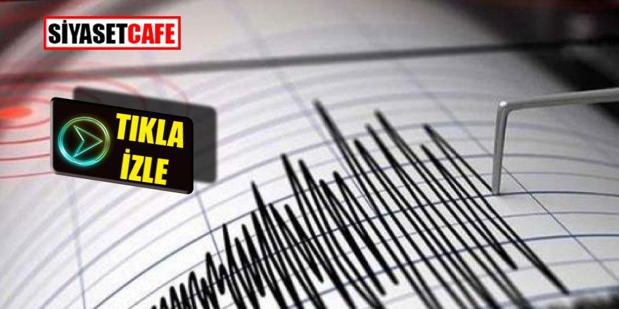 İstanbul'dakİ korkunç depremin sesi kaydedildi!