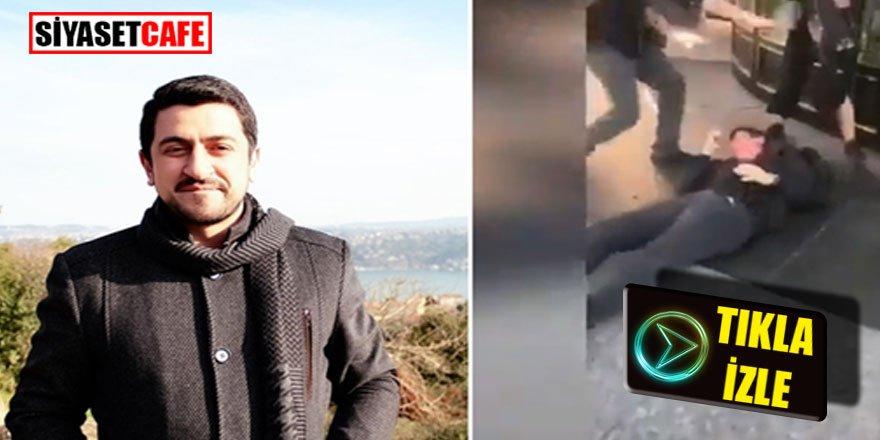 Bahçeli'ye hakaret eden Mücahit'i tekme tokat dövdüler