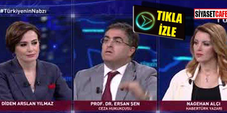 Nagehan canlı yayını birbirine kattı! Ersan Şen'e hakaret etti