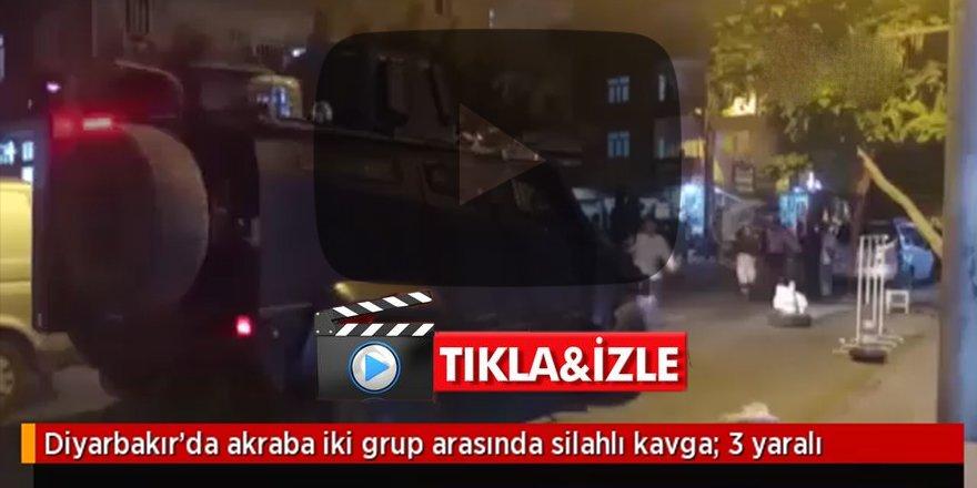 Diyarbakır karışı: İki aile bir birine girdi, 3 ölü