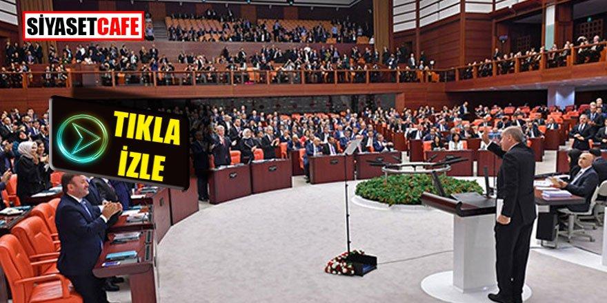 Erdoğan Millet İttifakı'nı Meclis'te dağıttı