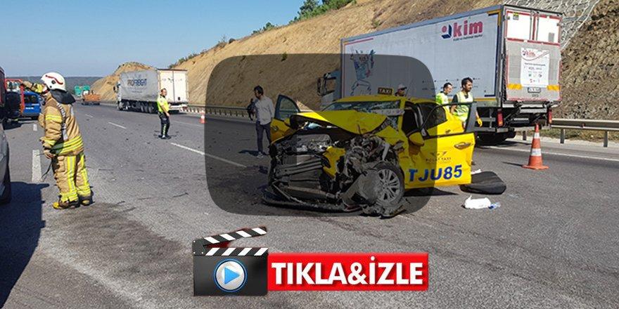 Arnavutköy'de feci kaza: Çok sayıda yaralı var