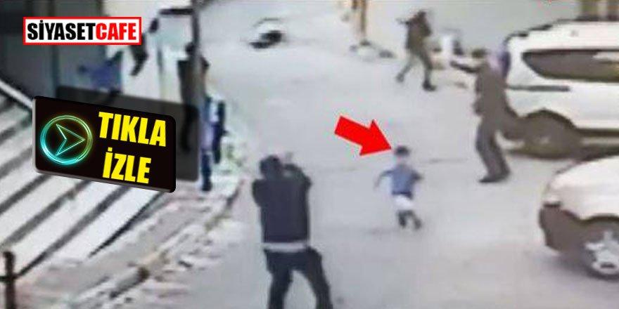 İstanbul'da silahlı çatışma kameralarda