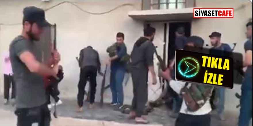 PKK/YPG 'nin kirli oyunu! Kamuflajları çıkarıp sözde sivil oldular